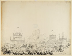 Tombs and Fort, Golconda